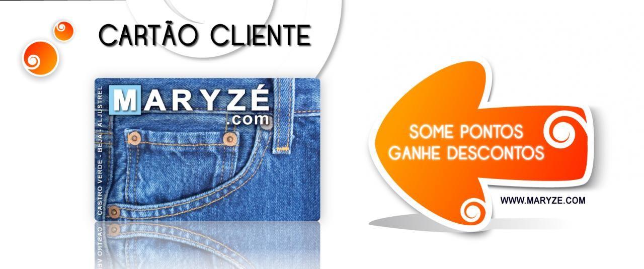 Novo Cartão Cliente Maryze