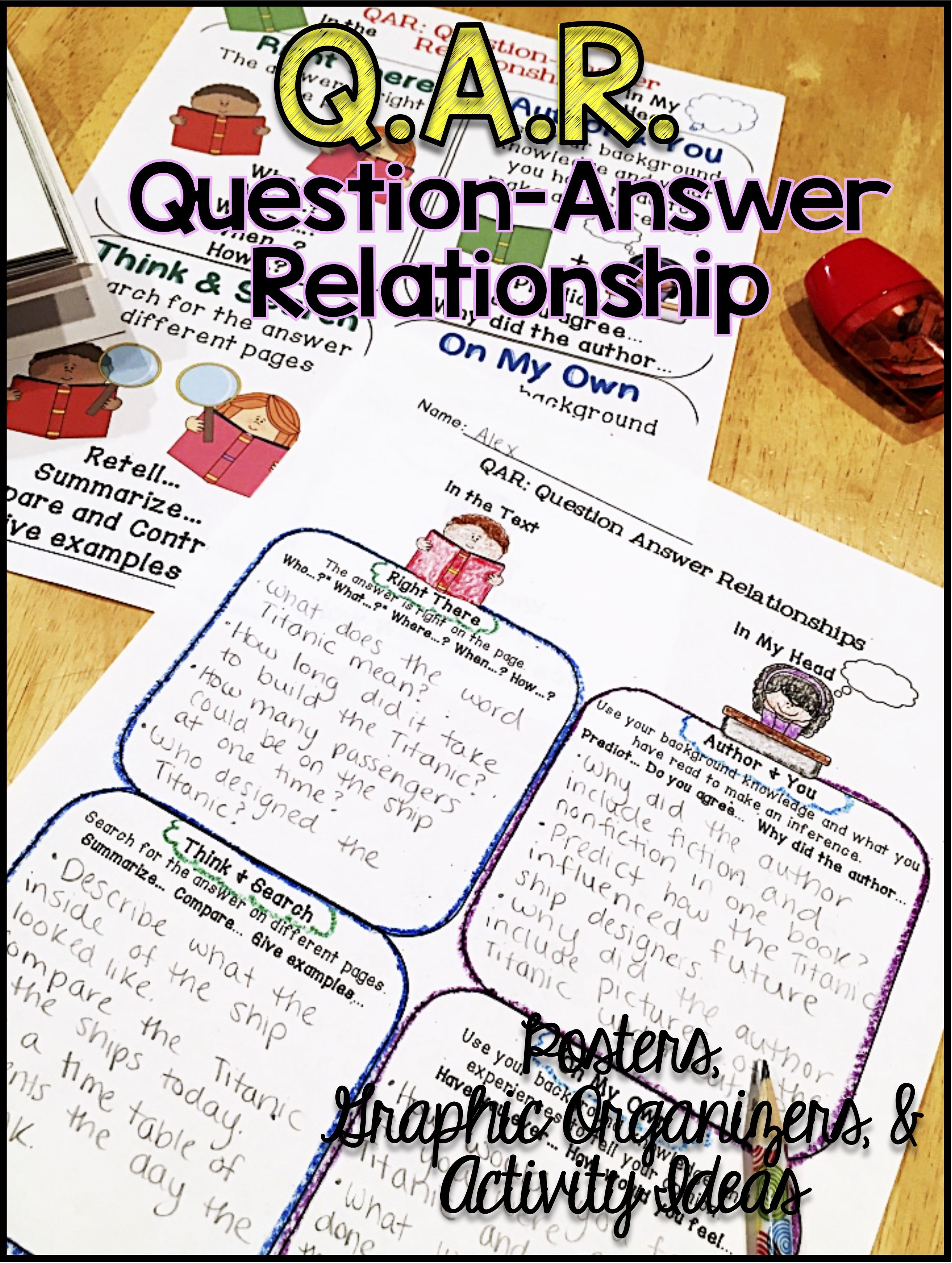 Ask Questions Reading Comprehension Qar Question Answer