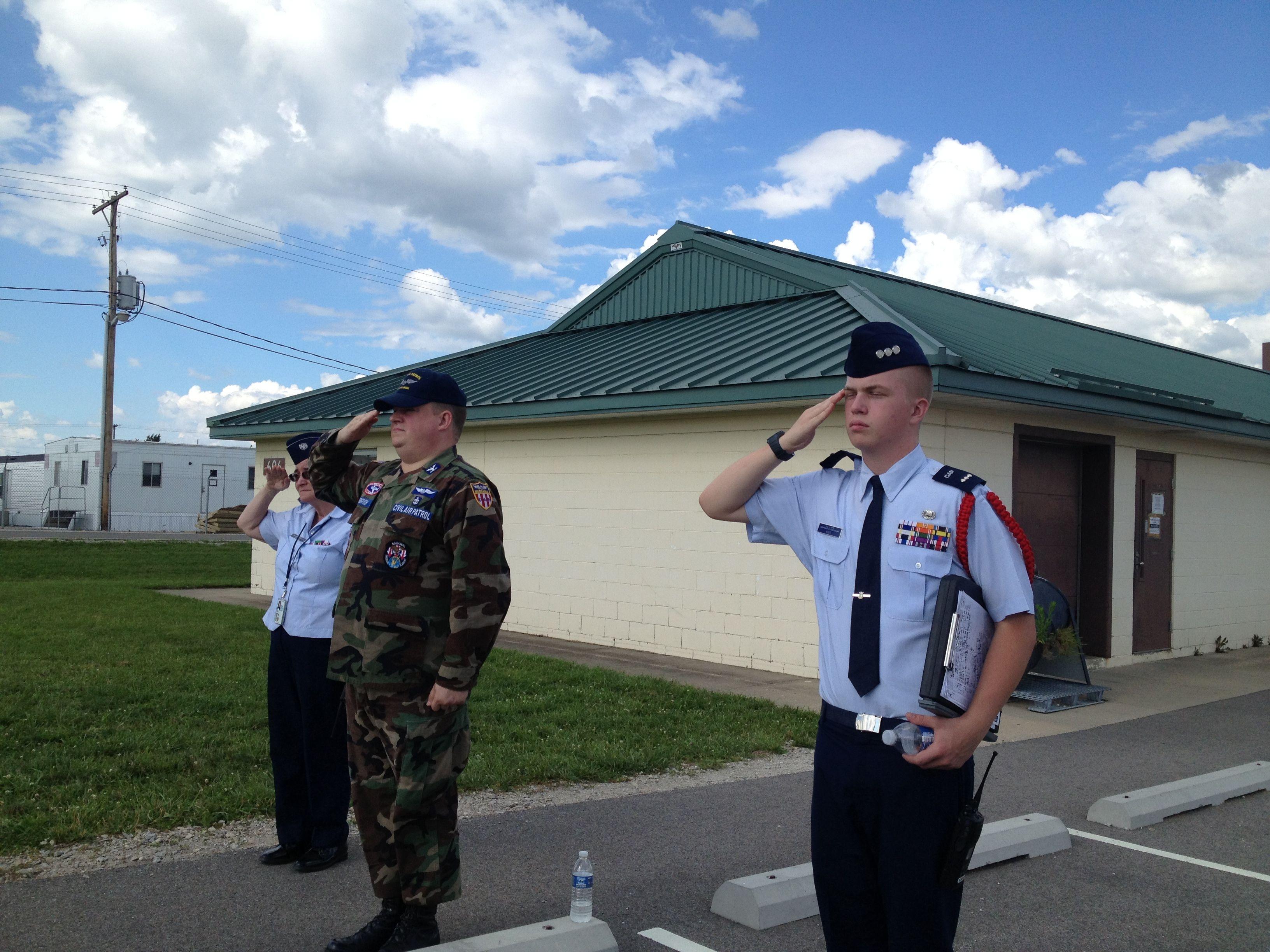 Encampment leaders train civilairpatrol cadet leaders of