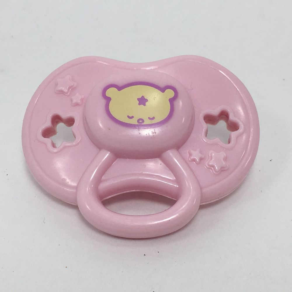 Baby Alive Replacement Pink Bear Pacifier Wide Mouth For