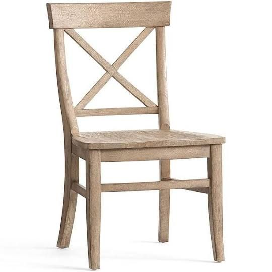 Pottery Barn Aaron Seat Wood Chair Google Search