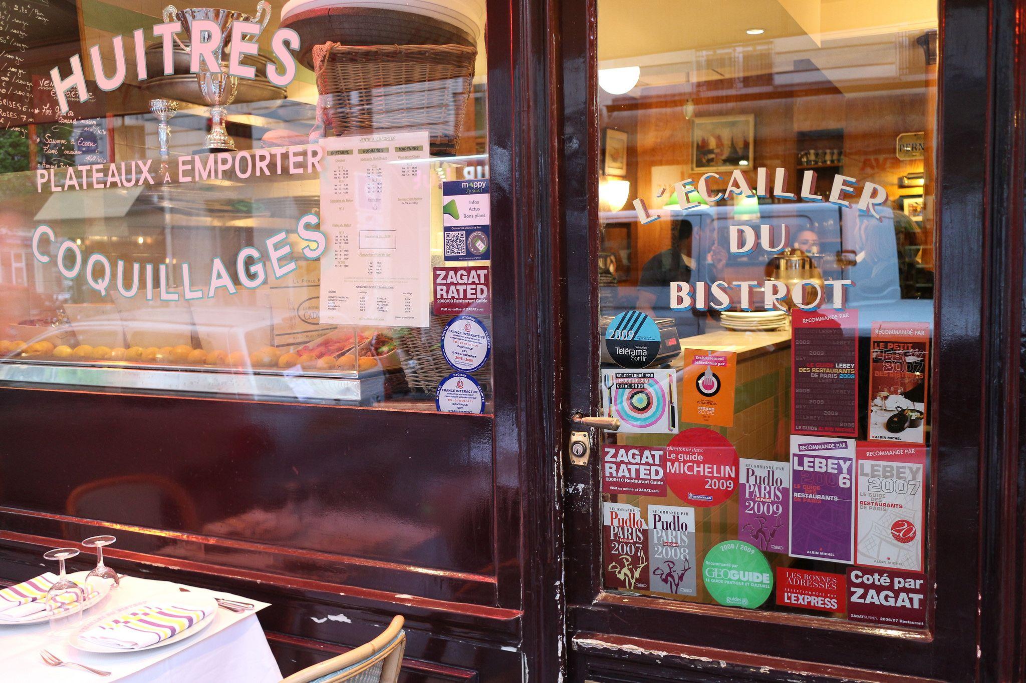 聚物養饕: 到小酒館嗑海鮮:L'Ecailler du Bistrot