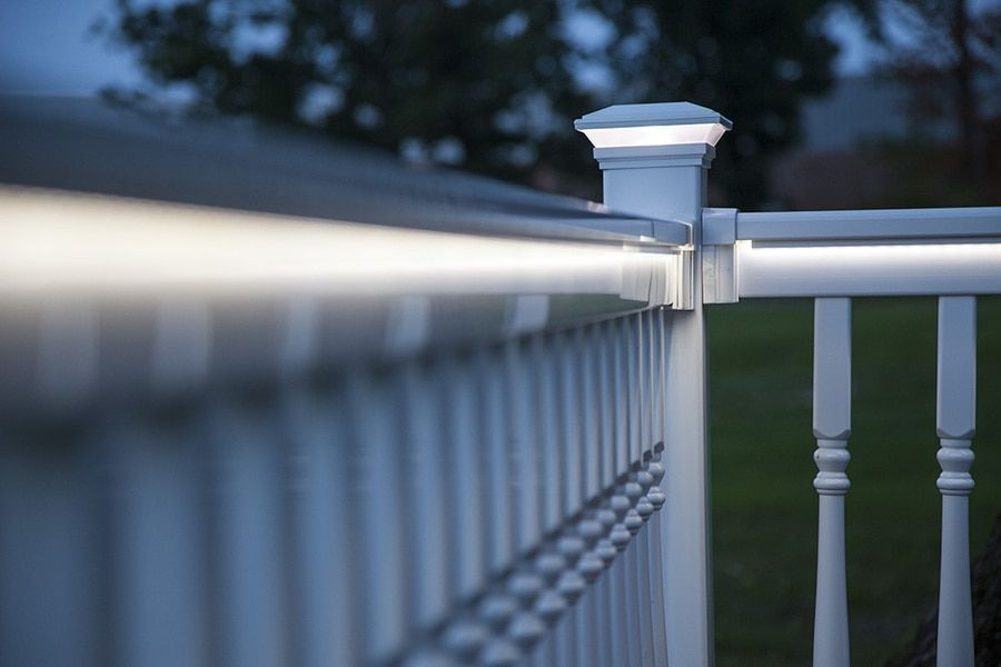 Strip Led Low Voltage Lighting By Rdi Deck Lighting Low Voltage Lighting Vinyl Railing