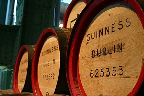 Guinness Brewery in Dublin, Ireland.  Awesome!