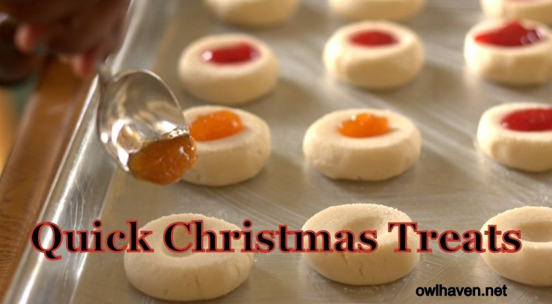 Quick Christmas Treats (goodies you can actually make with little ...
