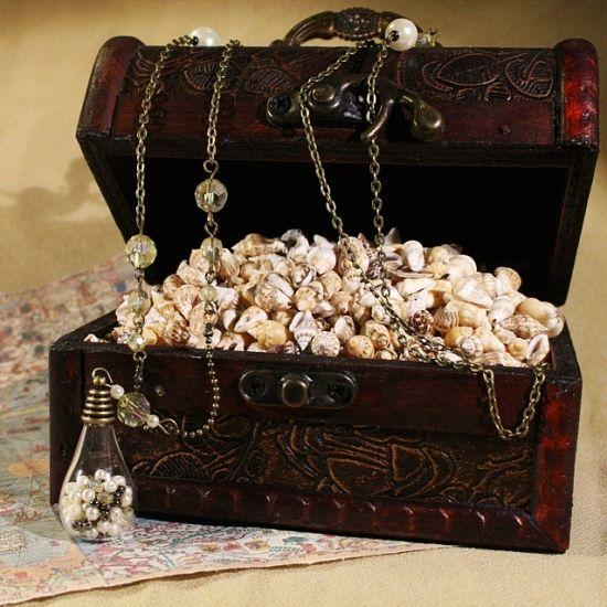 Bronze-Halskette *Perlenschatz* auf www.Klunkerfisch.de!