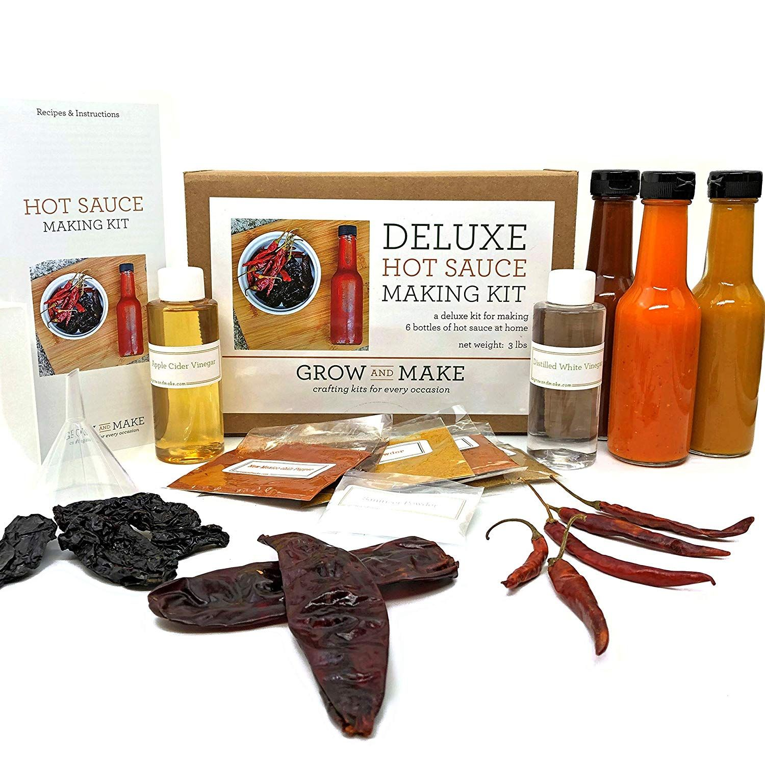 Hot Sauce Making Kit (With images) Hot sauce kit, Spicy
