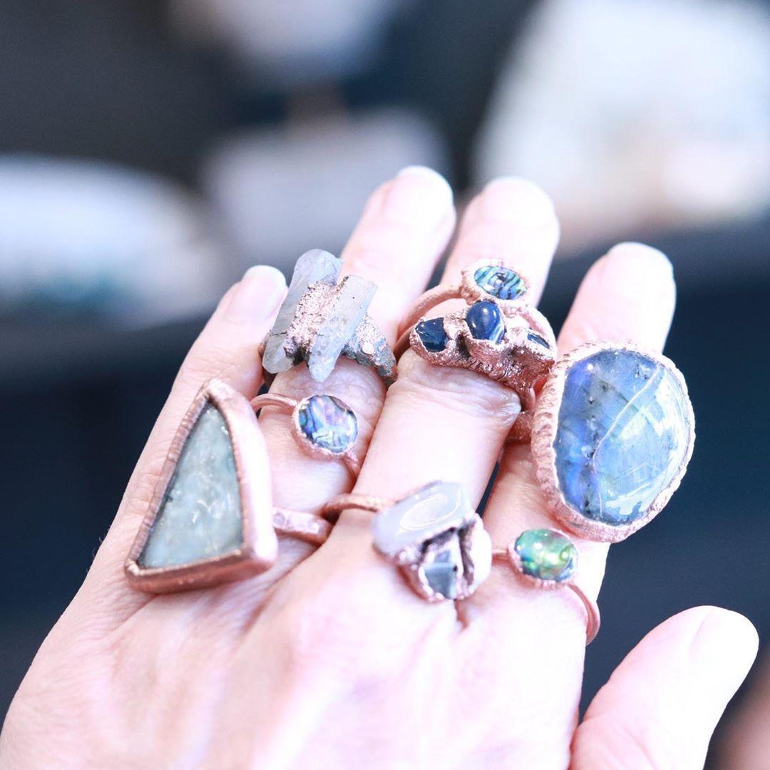 """Maeryêla Gems & Jewelry on Instagram: """"Feeling greedy 🙄 #gemstonejewelry"""""""