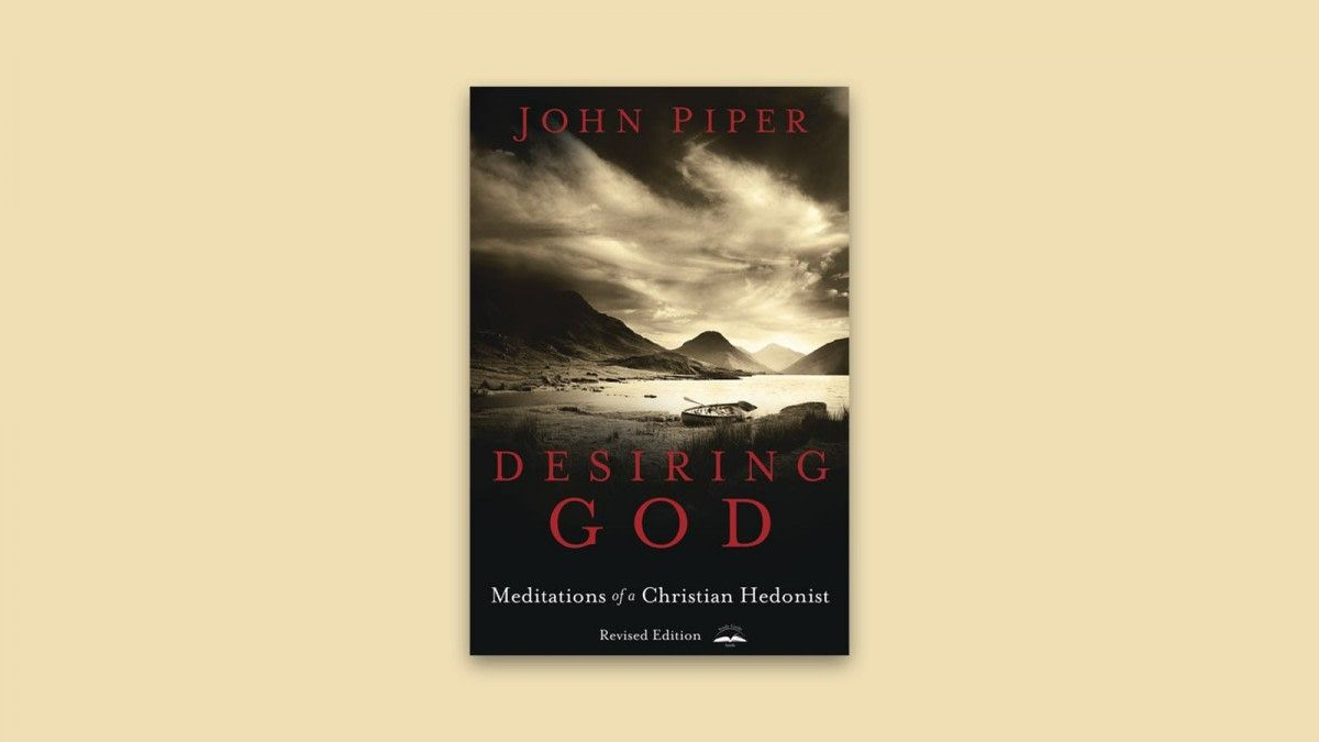 Book Review Of Desiring God By John Piper Https Www Bravedaily Com 2018 12 26 Book Review Of Desiring God By John Piper Utm Camp John Piper Books Book Cover