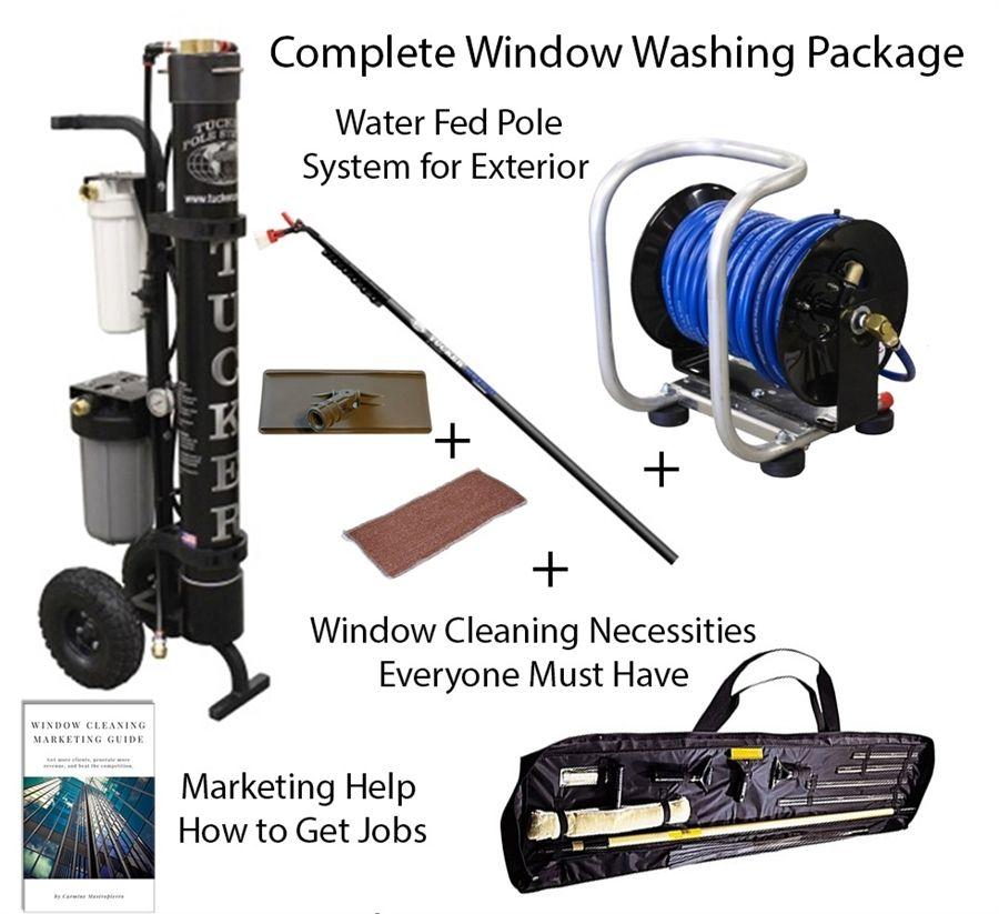 Professional Industrial Window Washing Equipment Used Cwc