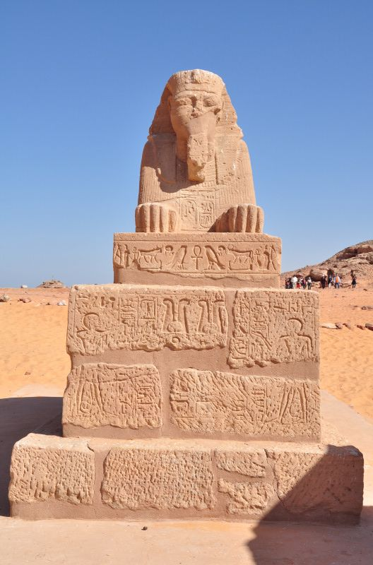 Tour to Wadi al Sebua temple from ancient Nubia in Egypt
