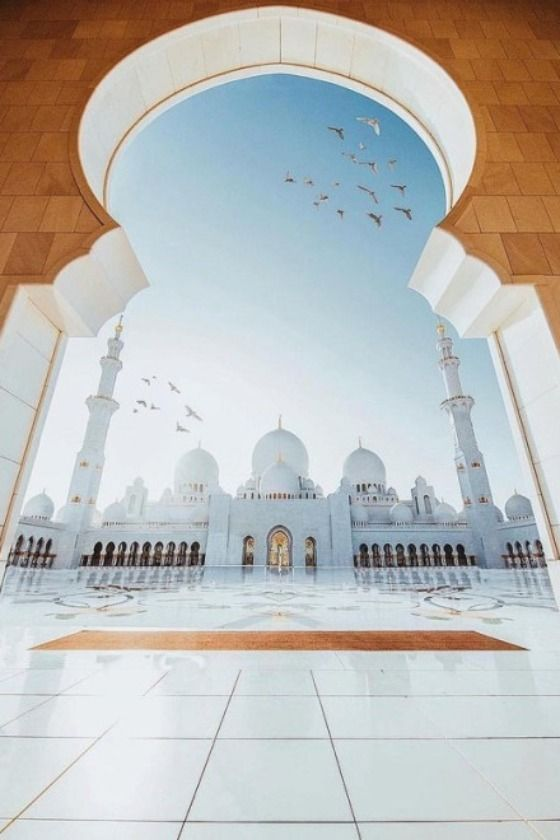 The Sheikh Zayed Mosque grows in popularity as a travel destination as the UAE does. Pictures of the mosque have become much more prevalent on social media in the past few years as travelers and photographers have taken notice of the beautifully designed white mosque. The white marbled mosque has become a symbol of magnificence.