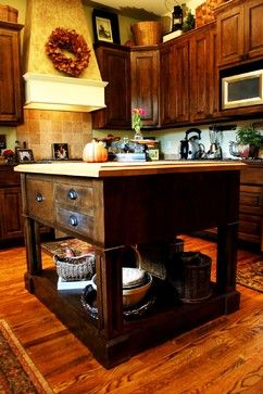KITCHEN – Hill Country - traditional - kitchen - austin - JOHN DANCEY Custom Designing/Remodeling/Building