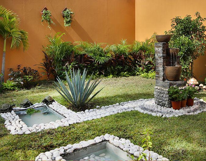 C mo crear un tortuguero en tu jard n fuentes jardines - Como decorar un estanque ...