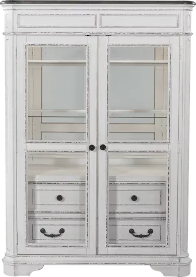 French Market White Cabinet White China Cabinets White Cabinets