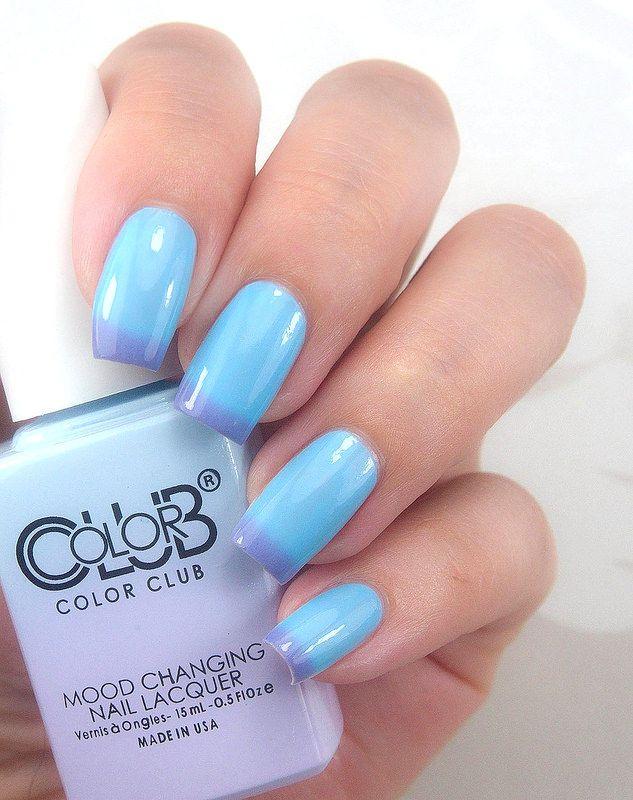 Color Club Blue skies ahead | Polish | Color club nail polish, Color ...