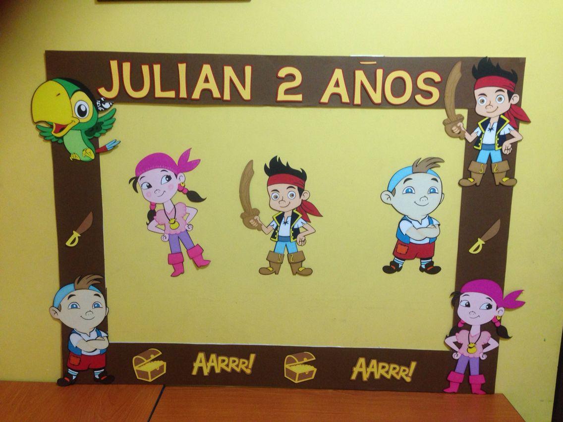 Marco y decoraci n jake y los piratas marco para fotos - Decoracion de marcos para fotos ...
