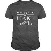 I Bake and I know things