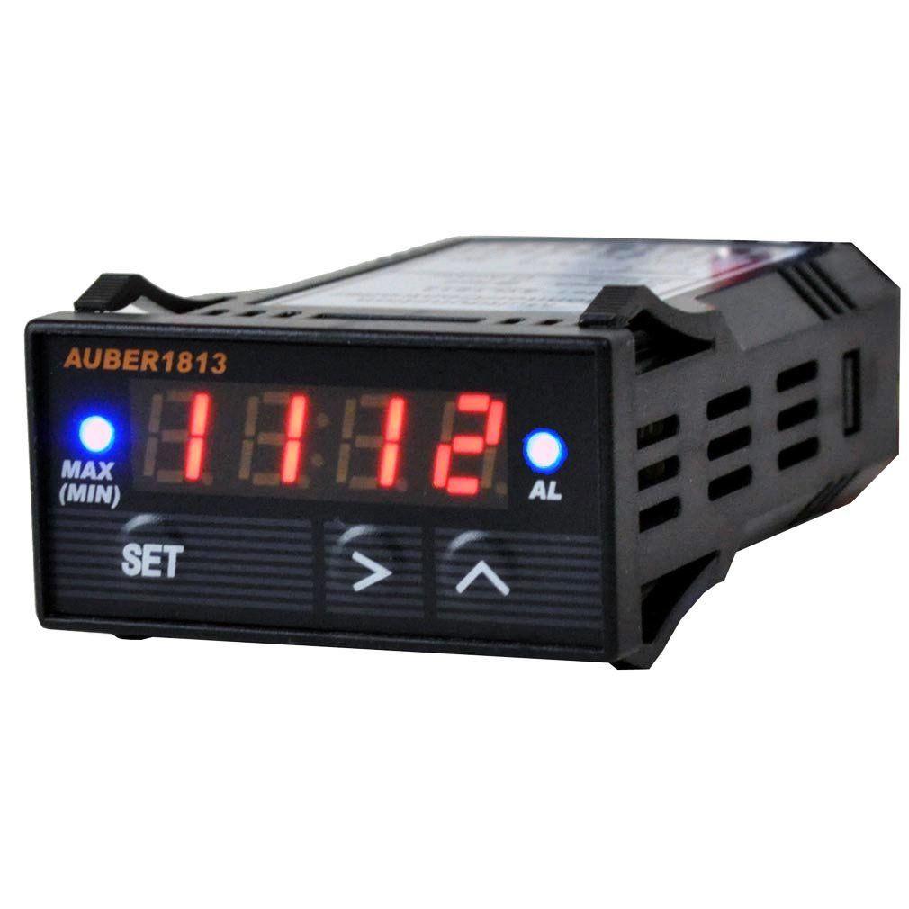 Bezel Black Voltmeter for Kenworth 2005 or previous LED Color Blue