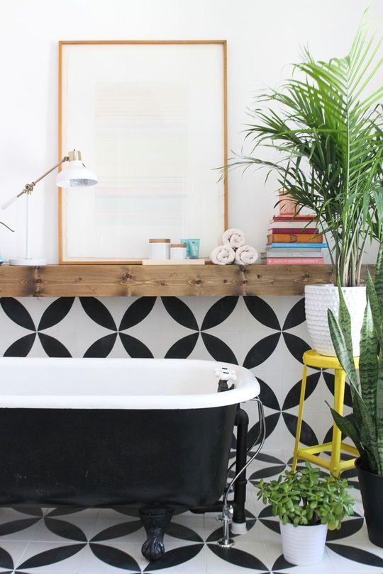 One Bathroom, Three Styles: Bright & Cheerful