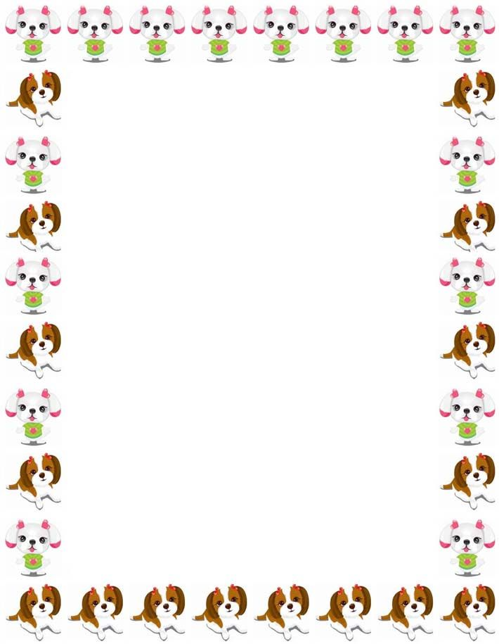 School Clip Art Borders stationary border paper, free - Free Paper Templates With Borders