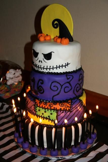 Nightmare Before Christmas Birthday Party Ideas Sweet 16