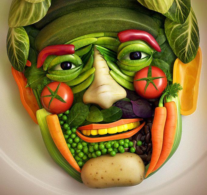 Прикольные картинки пищи