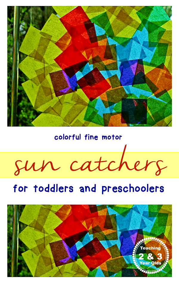 Toddler 4 Years Old Development Rainbow Tissue Paper Window Art Crafts For 3 Year Olds