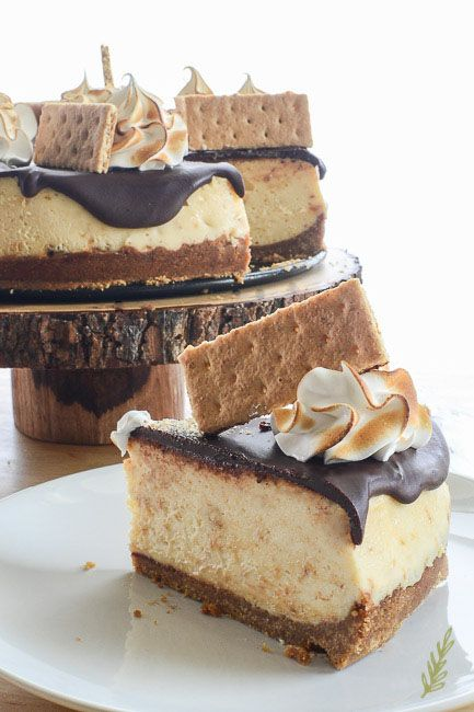 S Mores Cheesecake Smores Cheesecake Recipe Desserts Cheesecake Recipes