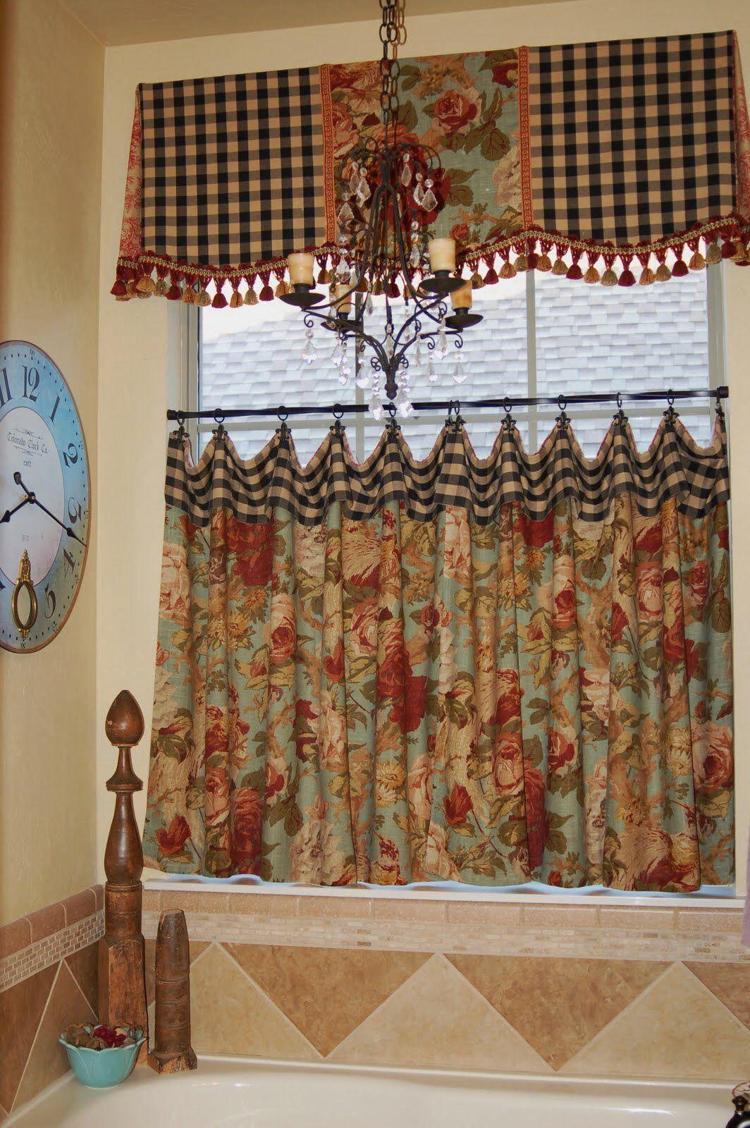Cortina para la cocina | Cortinas | Pinterest | Curtain ideas ...