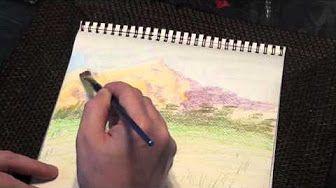 Comparing Derwent & Prismacolour Pencils - YouTube