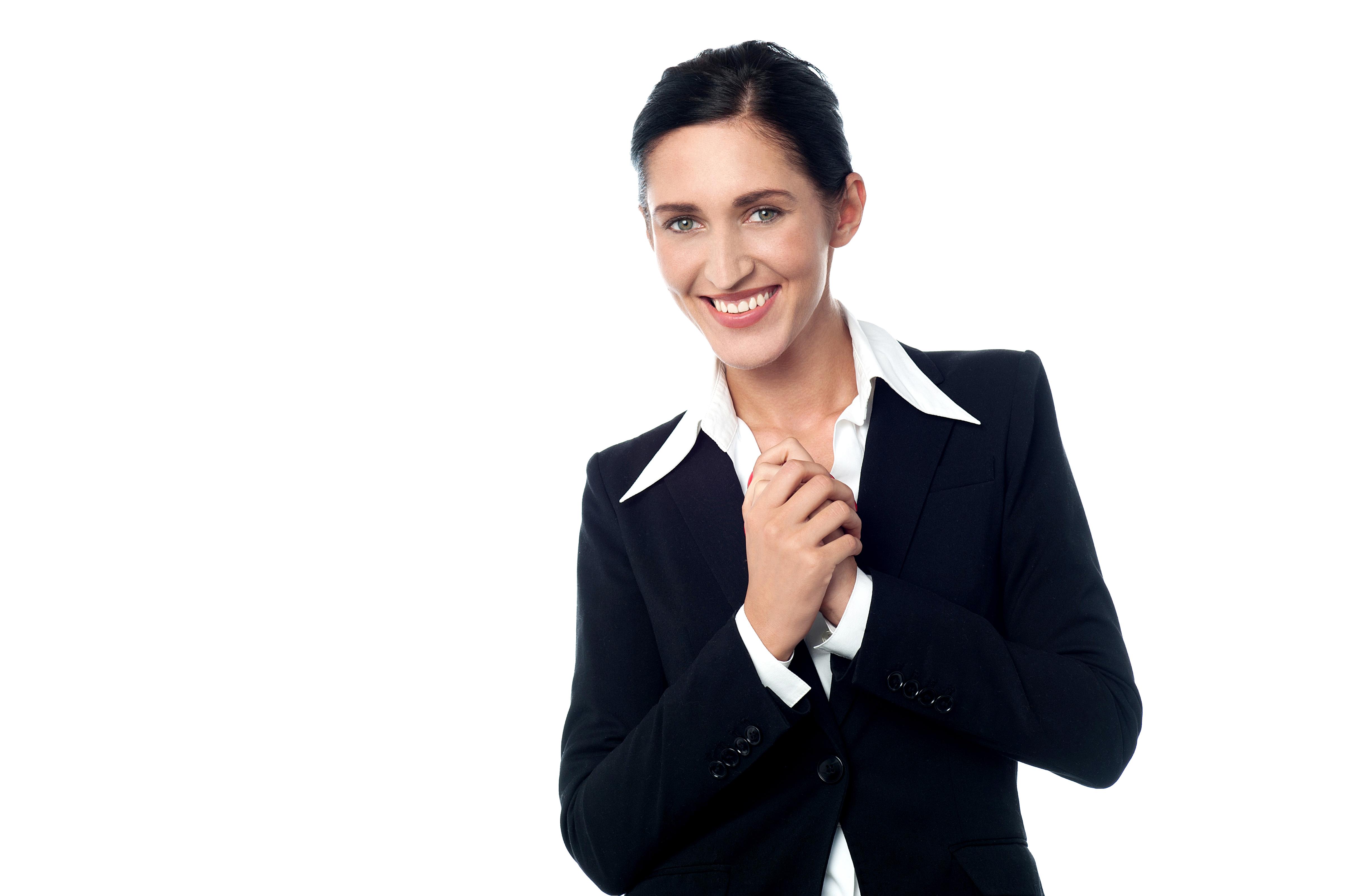 Business Women Png Image Business Women Women Big Collar