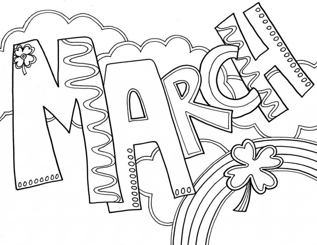 March Coloring Pages Best Coloring Pages For Kids Coloring Pages Spring Coloring Pages Printable Coloring Pages