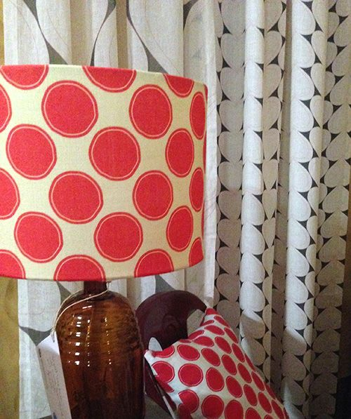 Loving linen on #lampshades. What's your lampshade love?