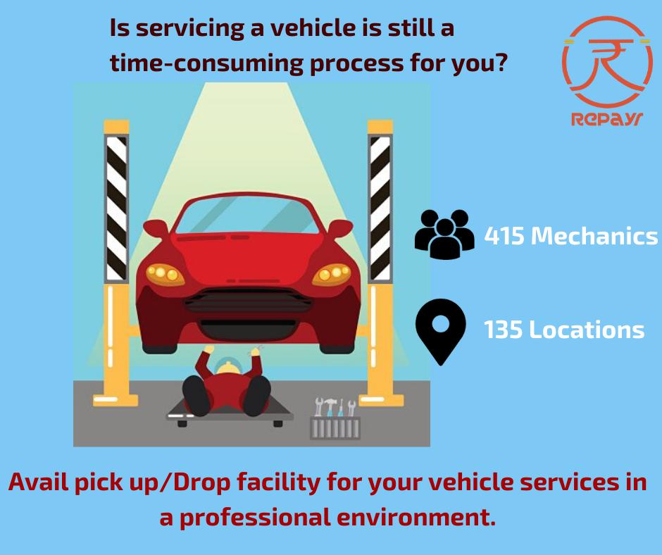 Repayr in 2020 Car repair service, Bike repair, Auto service