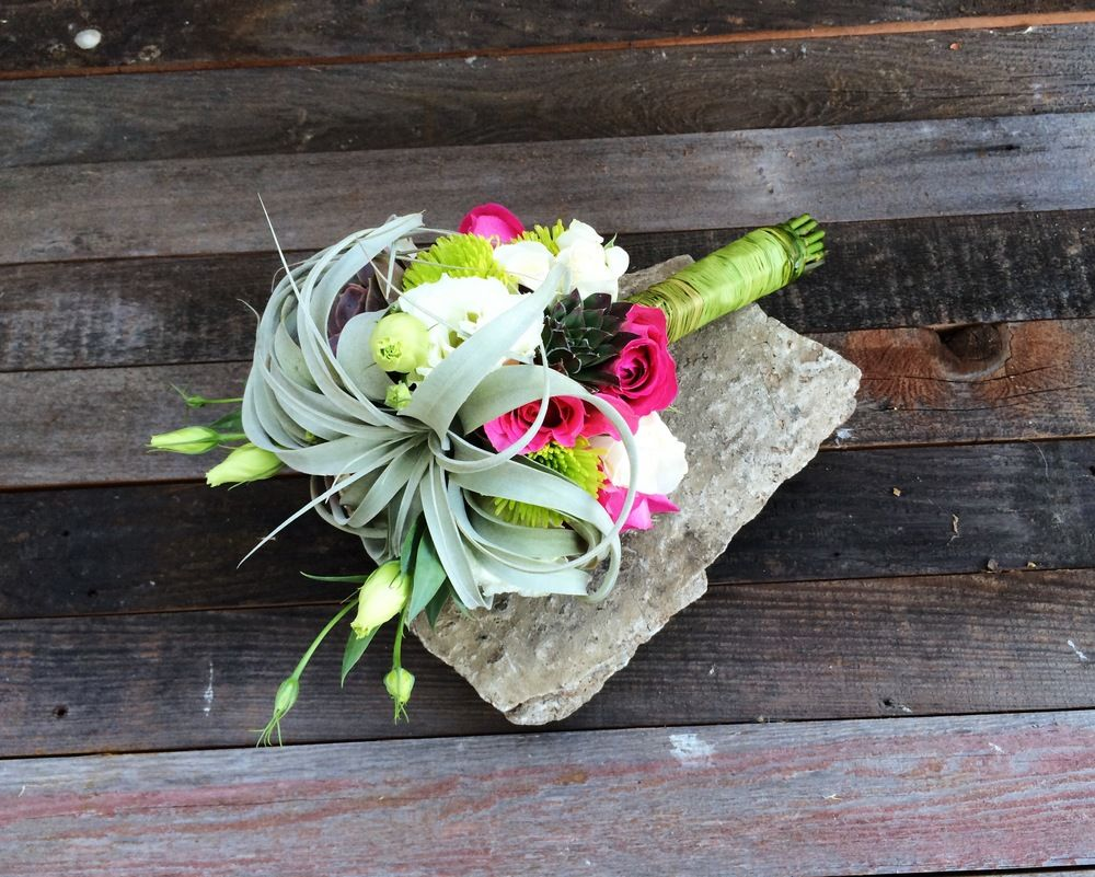 Santa Barbara Succulent Art — Succulent Bridal Bouquets