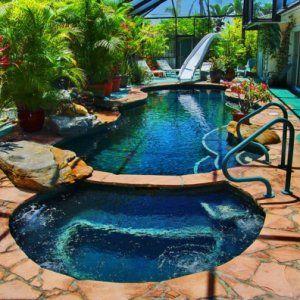 Schwimmingpool für den Garten 35 prima Designs! | Luxuriöse ...