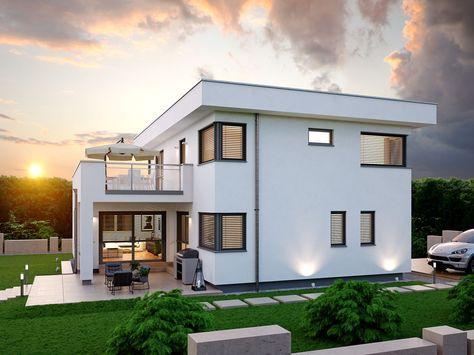 Uberlegen ZENKER Haus Konzept 174. Viel Fläche Zum Wohnen, Leben Und Wohlfühlen.  Modernes Design