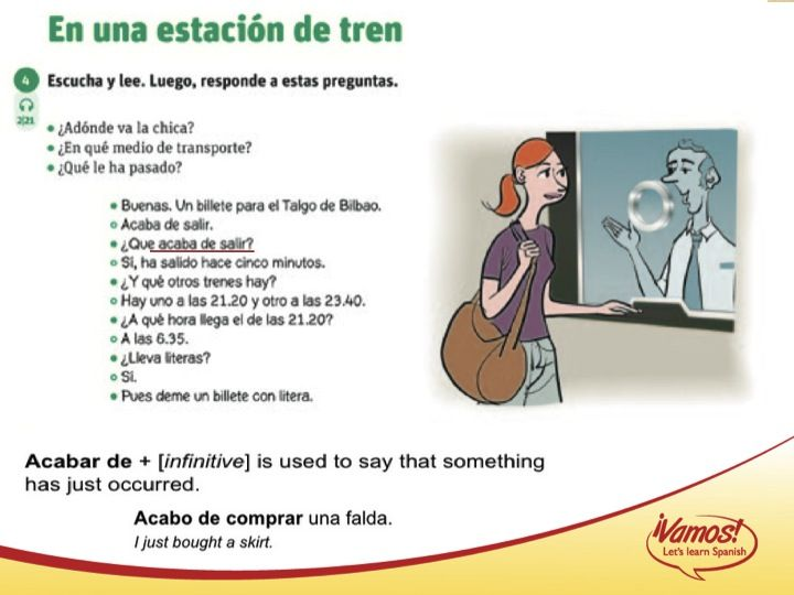 Slide6 Espaol Comprensin De Lectura Pinterest Spanish