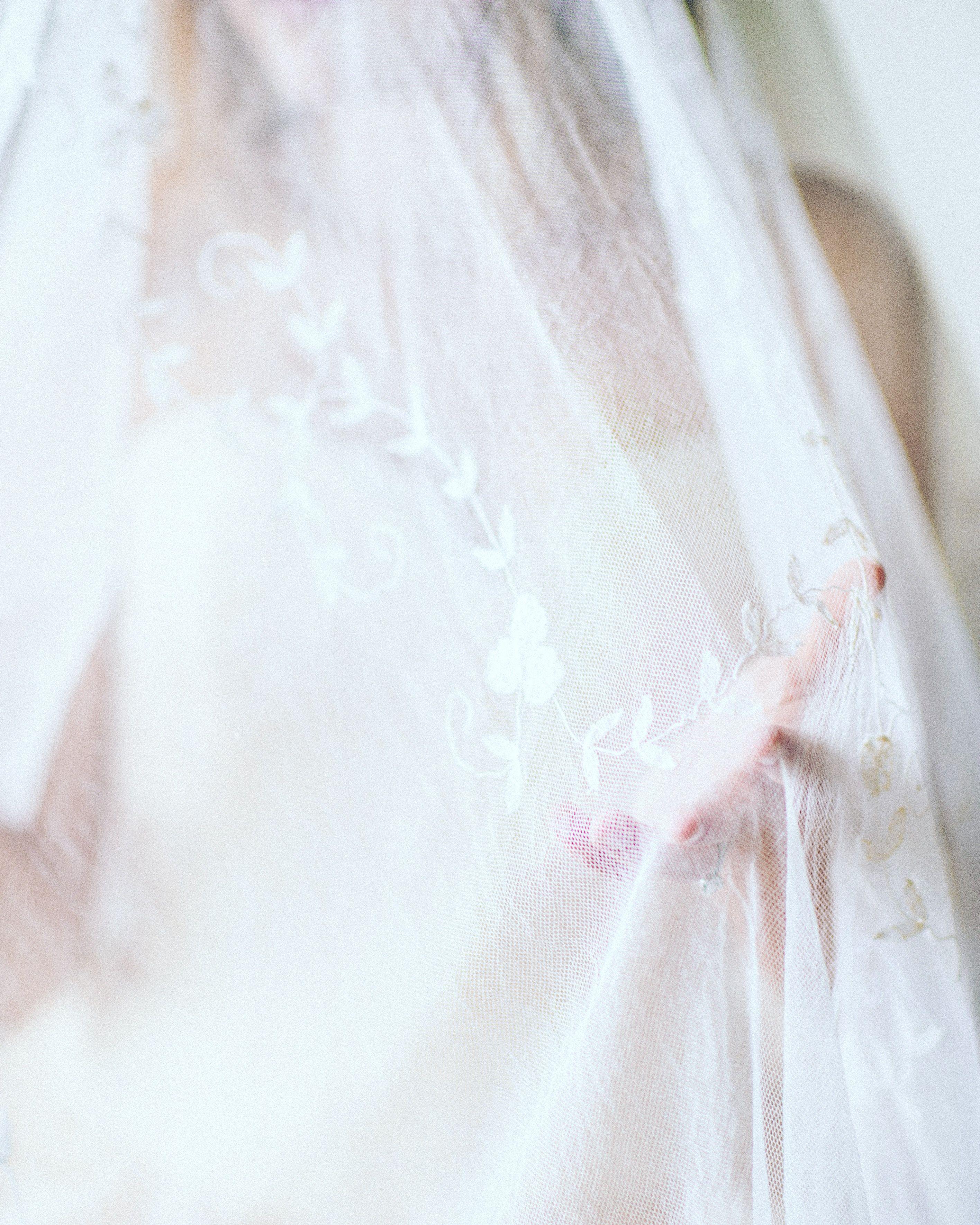 Floral detailed veil 💕
