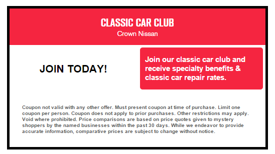 See Our Latest Service Specials And Schedule Maintenance At Crown Nissan In  Greensboro, NC Today!