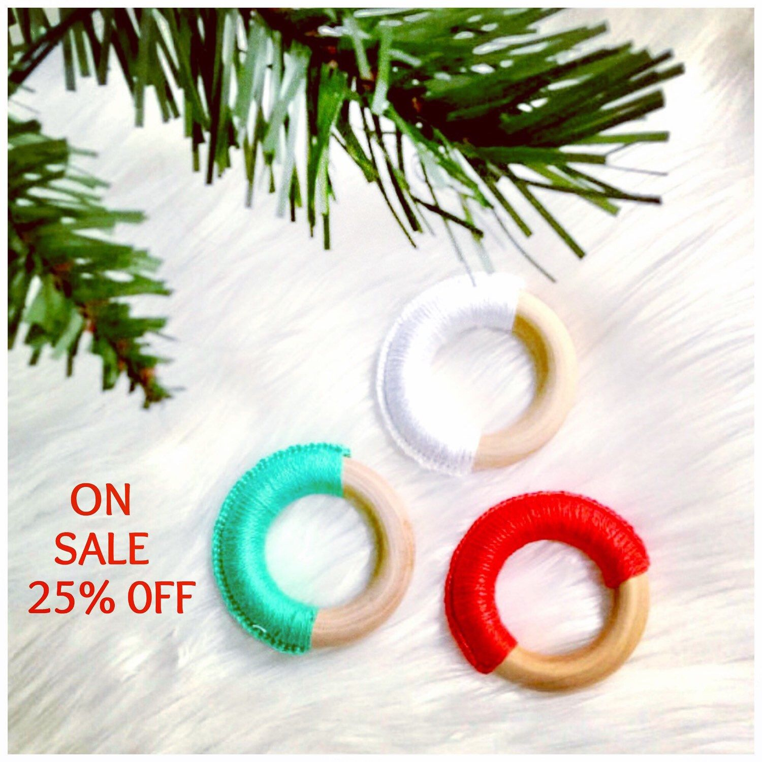Christmas #teethers now on #sale! #Holiday #gifts for #babies ...