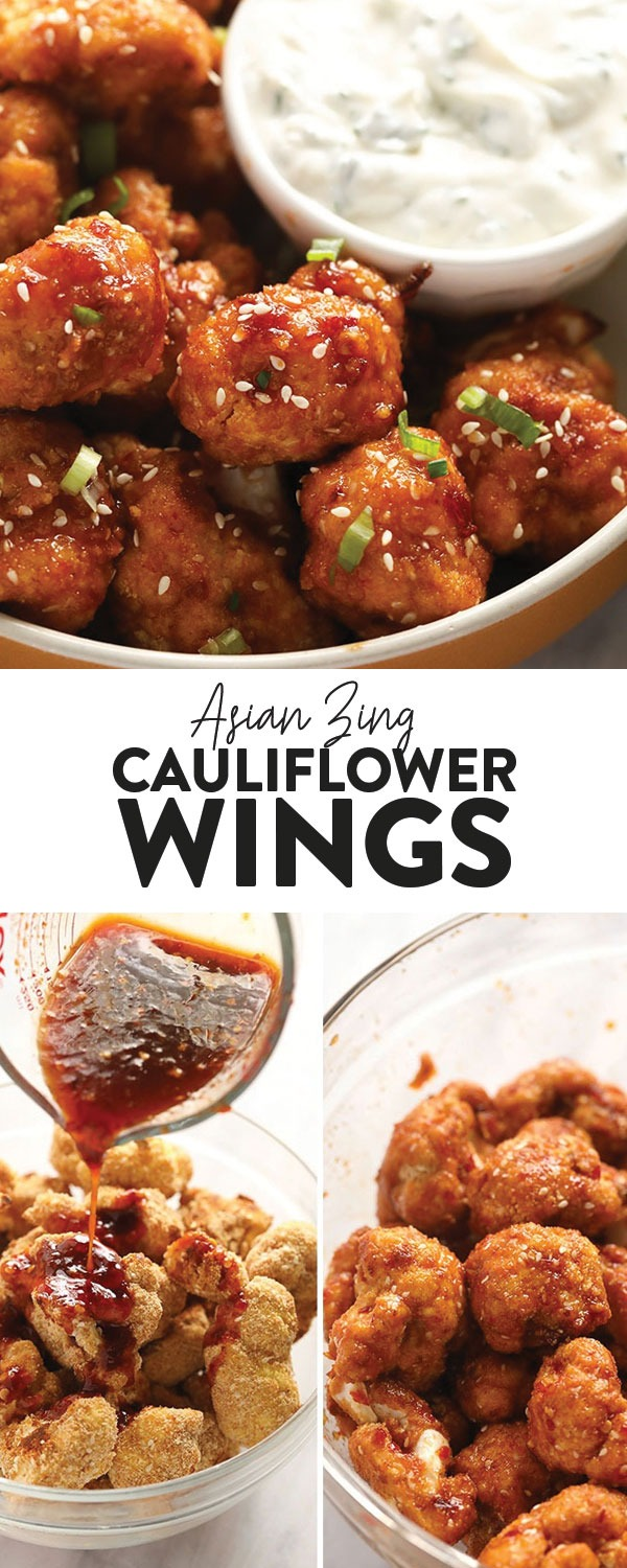 Aisan Zing Cauliflower Wings (Perfect for Game Day!) - Fit Foodie Finds