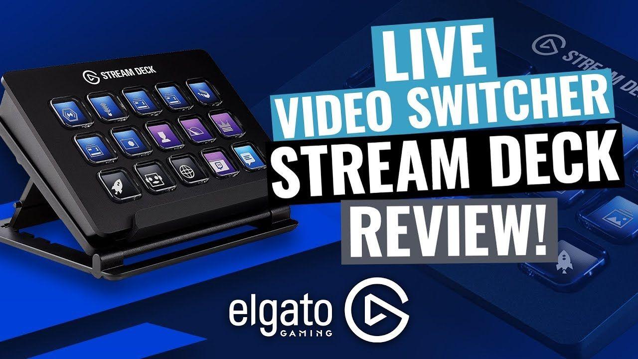 Multicam Livestream Video Switcher Elgato Stream Deck
