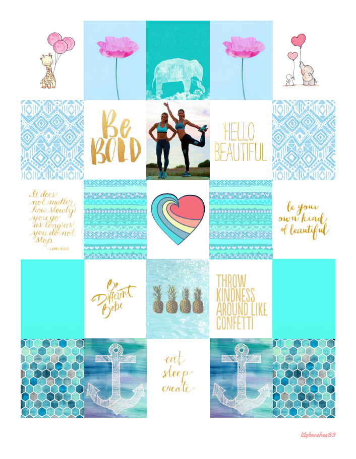 Free August 2015 Planner Stickers   Lily Beaches