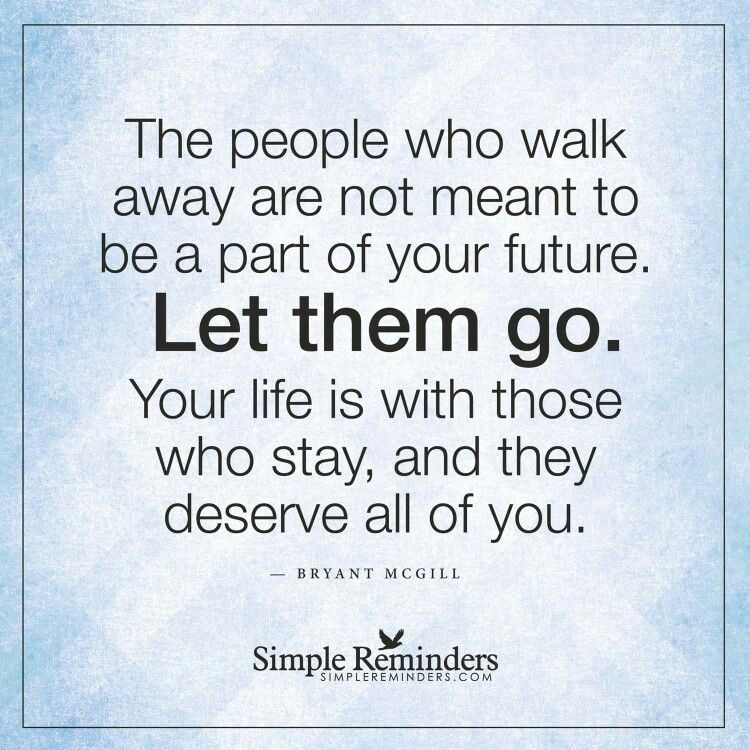 Let Them Go!