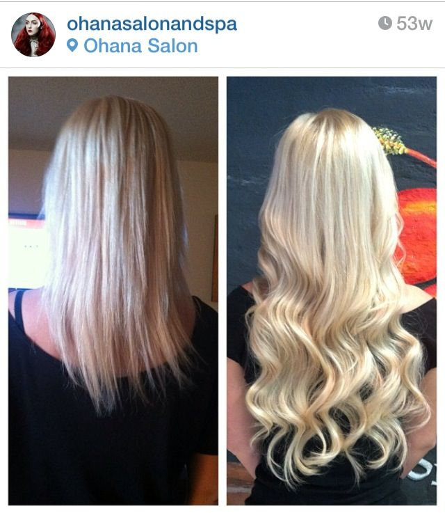 Dream Catchers Hair Extensions Endearing Before & After Dream Catchers 20'  Dream Catcher Extensions