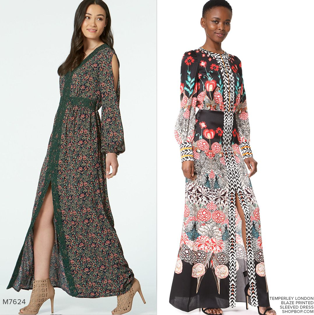 Sew the look mccalls m7624 maxi dress sewing pattern sewthelook sew the look mccalls m7624 maxi dress sewing pattern sewthelook sewingpattern jeuxipadfo Images