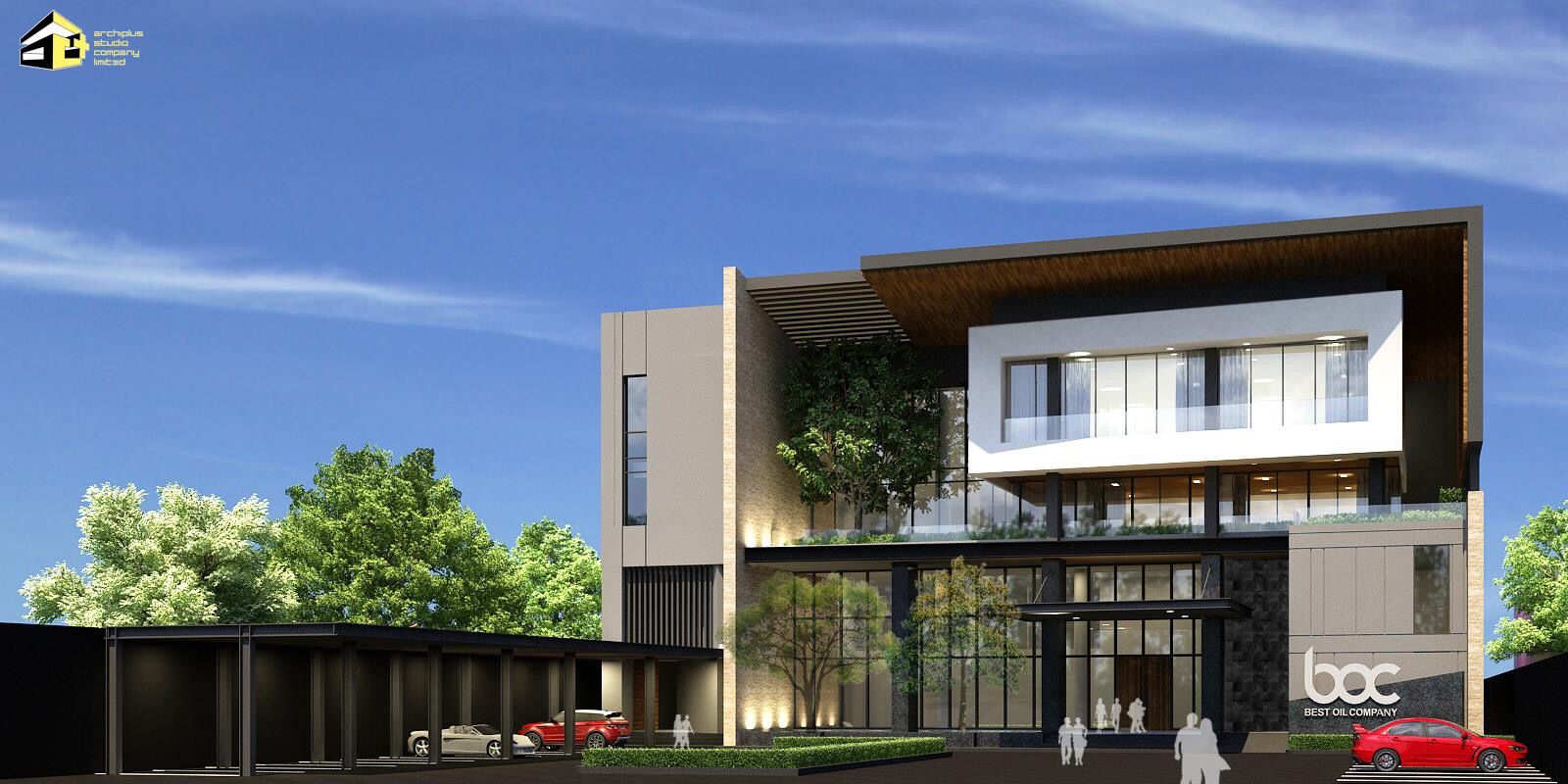 Boc Office At Mandalay Myanmar Residential Architecture