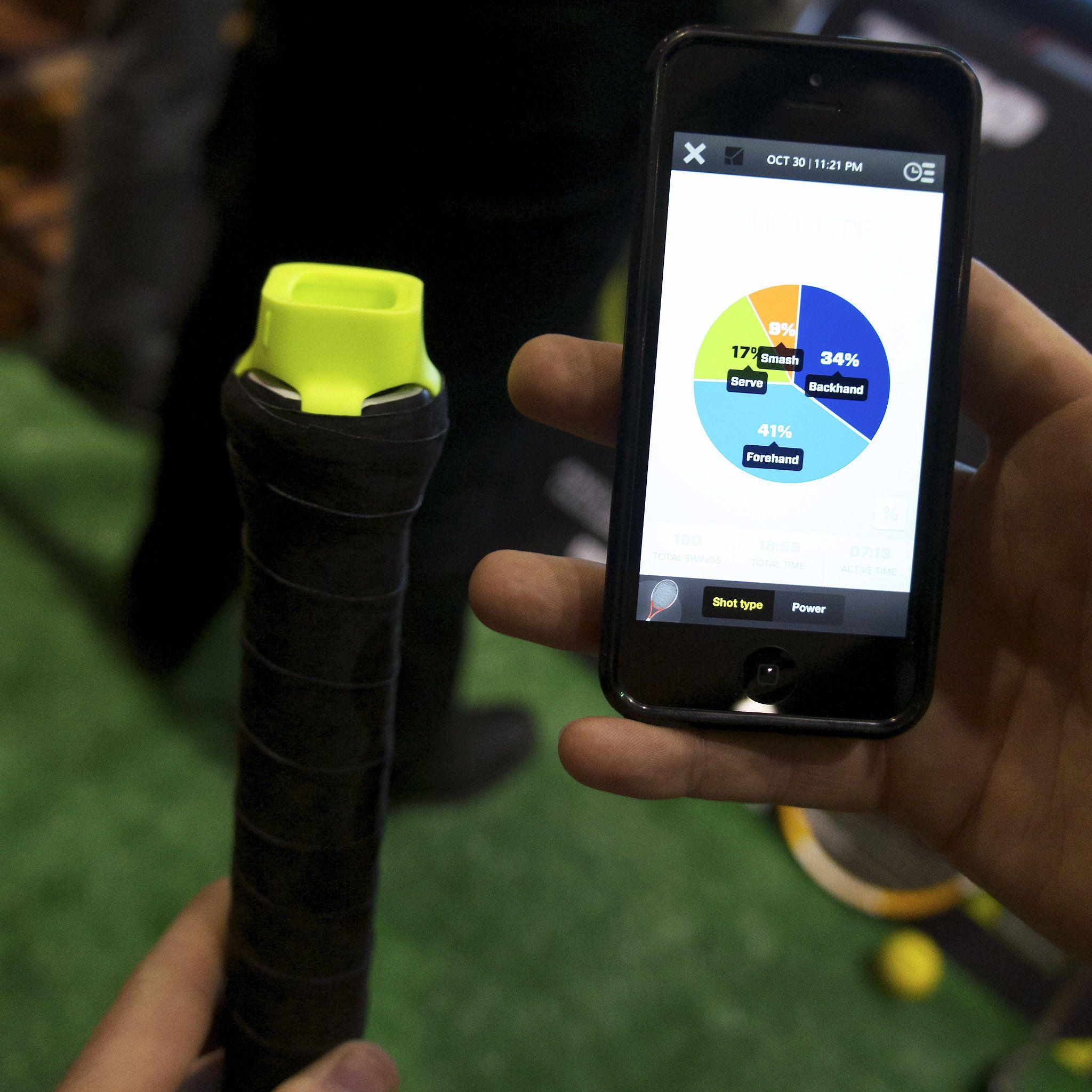 Tennis Sensor and App Fitness gadgets, Cheap golf clubs